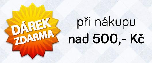 dárek nad 500,- zdarma jen na PoštovnéZDARMA.cz