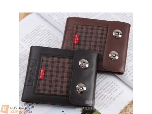 Pánská kožená peněženka - 2 barevná provedení