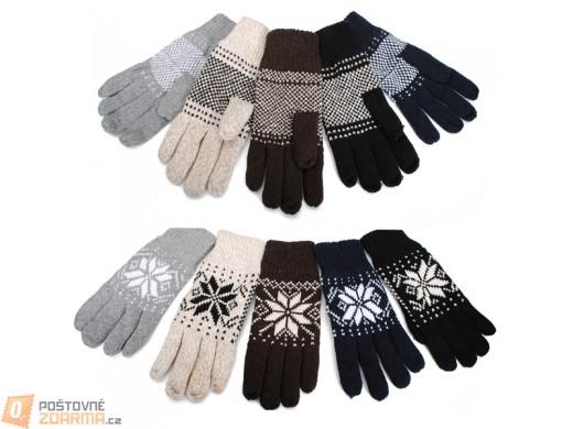 Pánské zimní rukavice - v 5 barvách