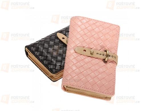 Dámská peněženka s ozdobnou přezkou - 2 barvy
