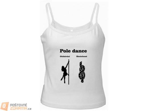 Tričko Pole Dance