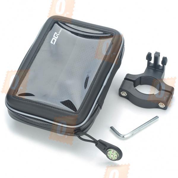 Voděodolné pouzdro na mobil a GPS s držákem na řidítka