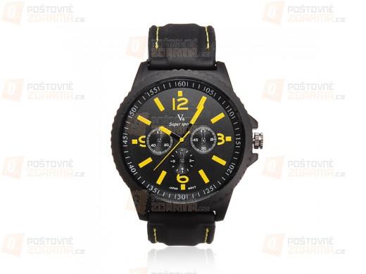 Pánské sportovní hodinky se silikonovým páskem