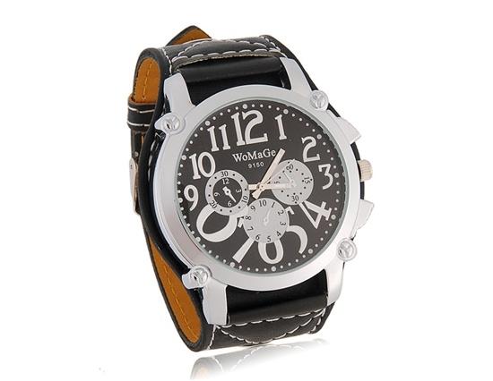 Sportovo-elegantní unisex hodinky WOMAGE