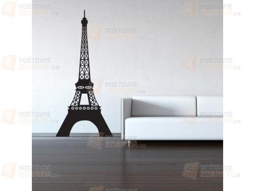 Samolepka na zeď - Eiffelova věž