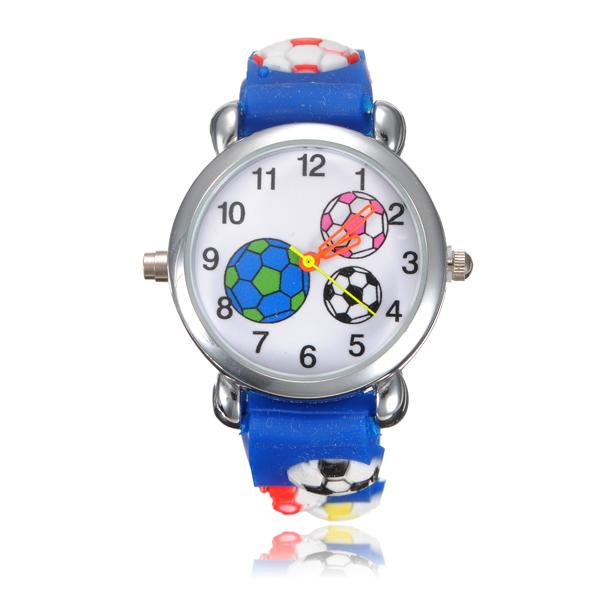 Fotbalové LED hodinky pro kluky