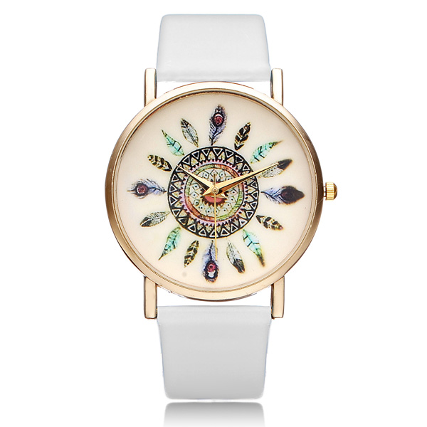 Geneva hodinky s indiánskými motivy