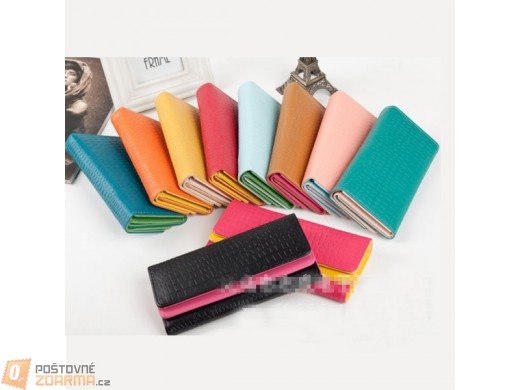 Dámská peněženka ve více barevných kombinacích