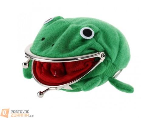 Dětská peněženka s motivem žabky