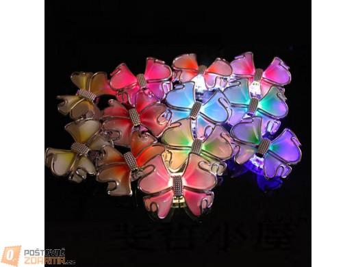 Svítivé LED mašličky